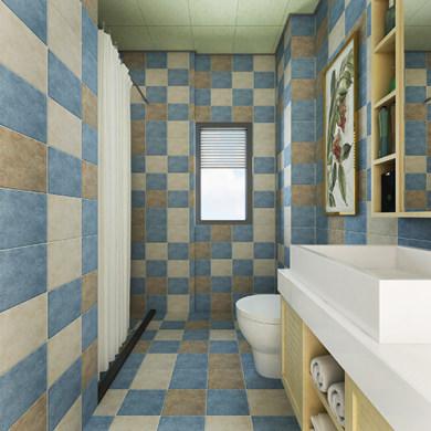 紫竹园现代简约风格三居装修效果图