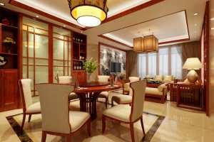 深圳市两厢寓中式风格二居装修图片