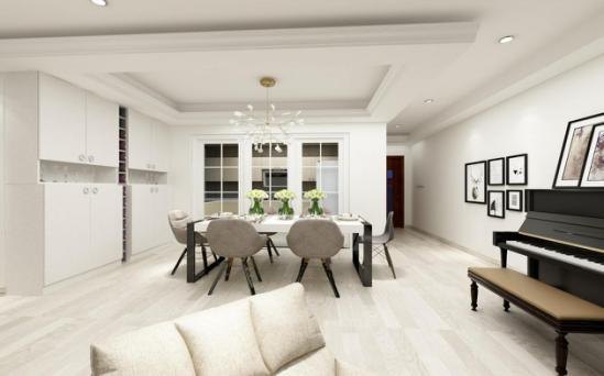 白金汉宫北欧风格三居家装效果图