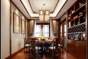 宜阳小区中式风格四居家装效果图