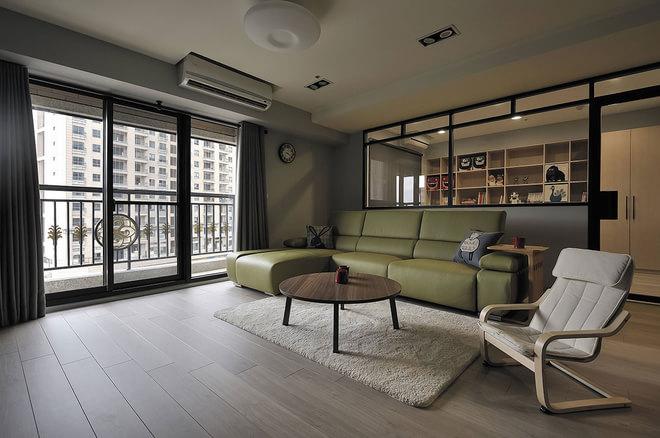 蔡甸广场 三居室 140平-北欧风格