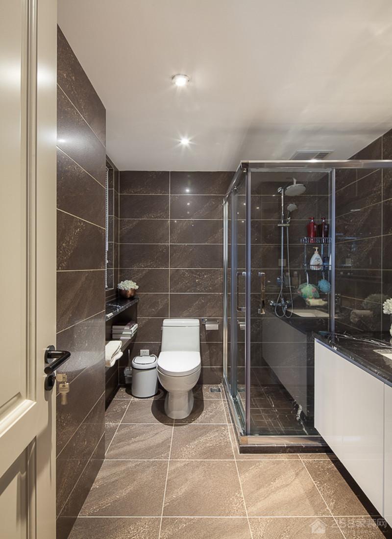 天鹅堡158㎡混搭三居室装修效果图