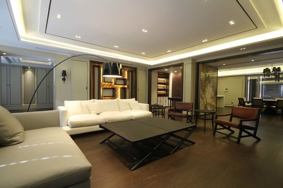 常发豪庭国际新古典风格三居家装效果图