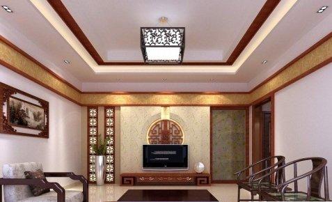 清泉寨新古典风格二居装修效果图