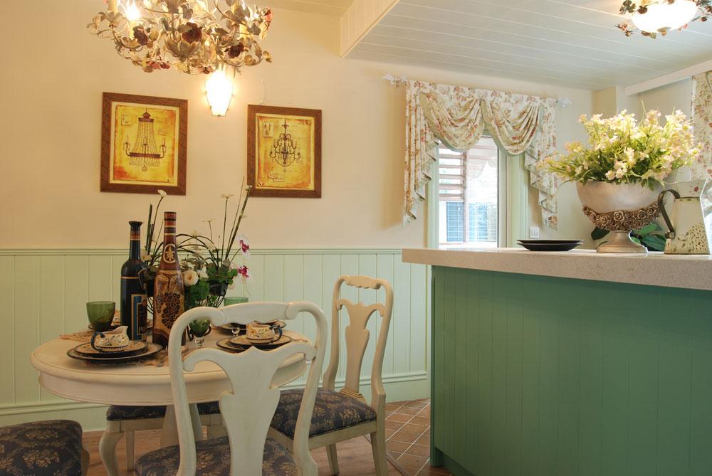 通和波士顿公寓欧式风格三居家装效果图