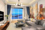 东方米兰国际城120㎡现代简约风格三居装修效果图