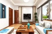 花果园中式风格三居家装效果图