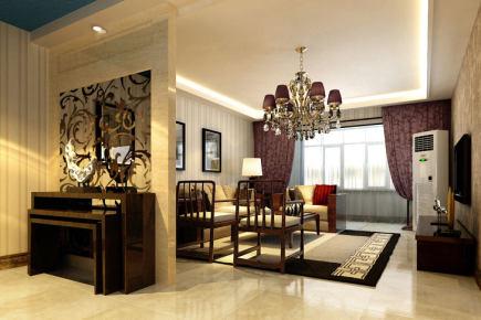 乐活城东南亚风格复式家装效果图