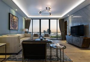 深圳领航城A2户型现代简约风格三居装修效果图