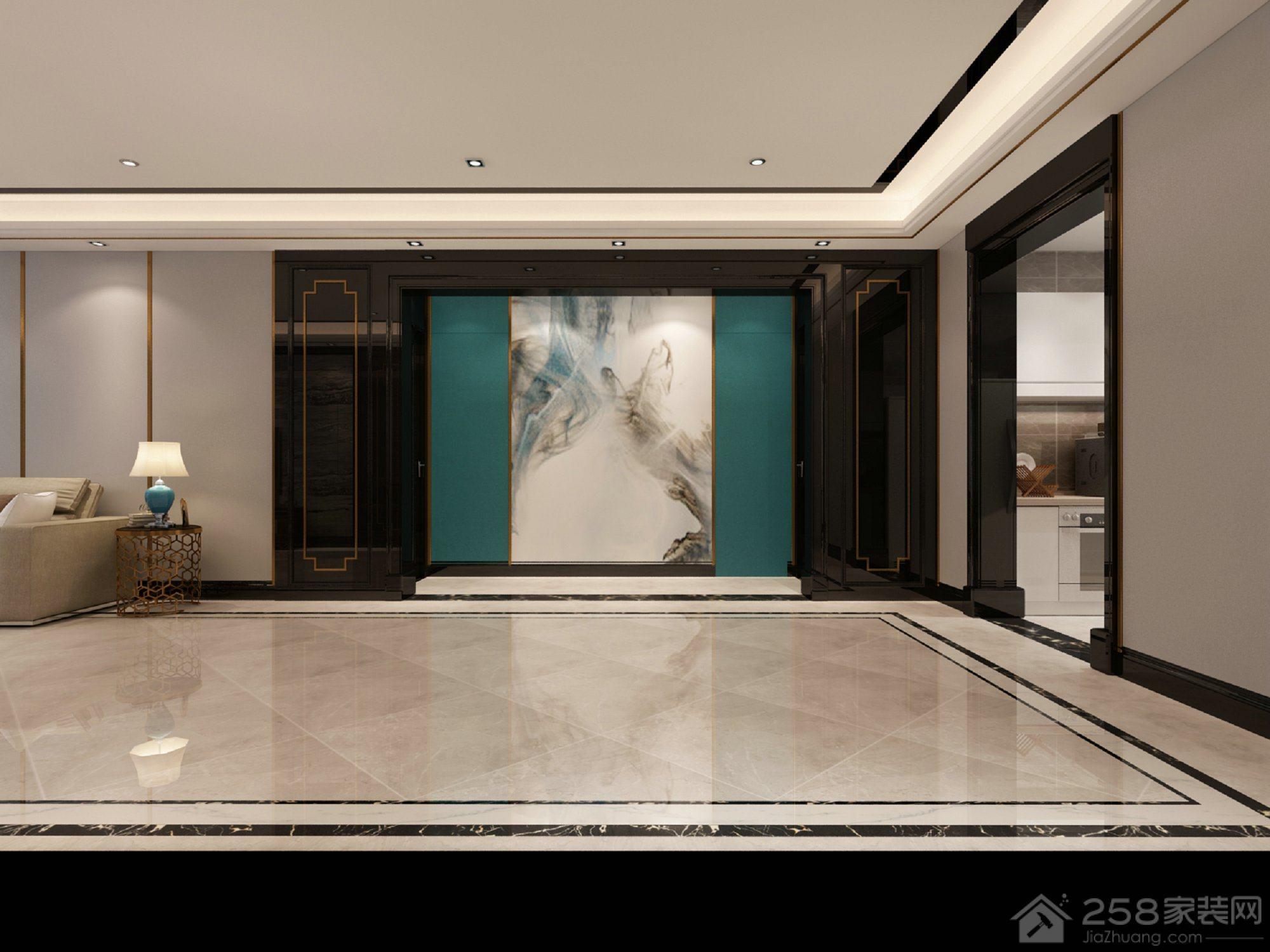 富力华庭现代简约风格四居家装效果图
