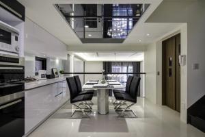 亿锋现代城现代简约风格三居装修效果图