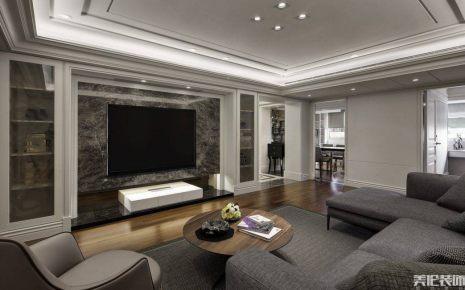 清华园140m²欧式风格四居装修效果图