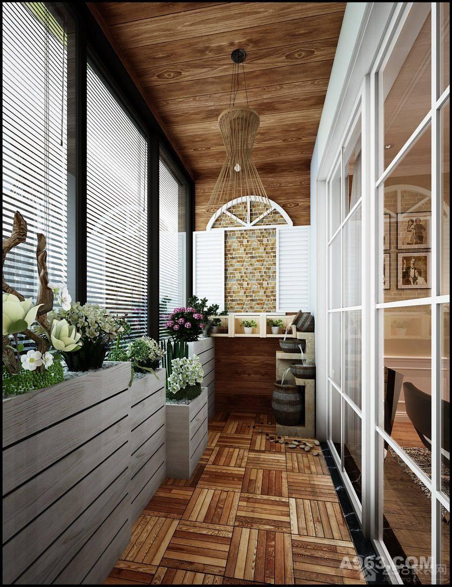 珠影大院美式风格二居家装效果图