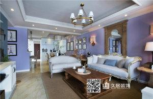 东夏东港美式风格三居装修效果图
