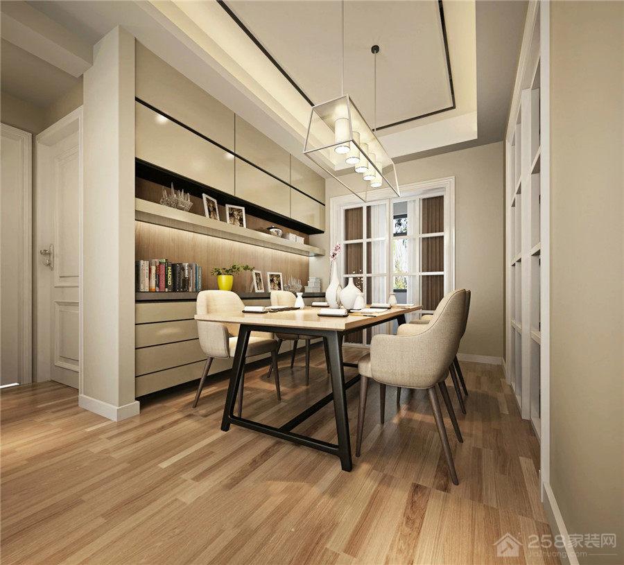 现代简约风格三居装修效果图