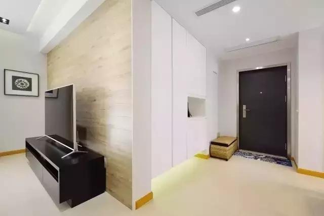 富和凯悦名门现代简约风格二居装修效果图