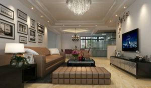 西海瑞园现代简约风格二居家装效果图