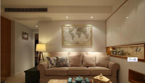 星河WORLD·银湖谷中式风格三居家装效果图
