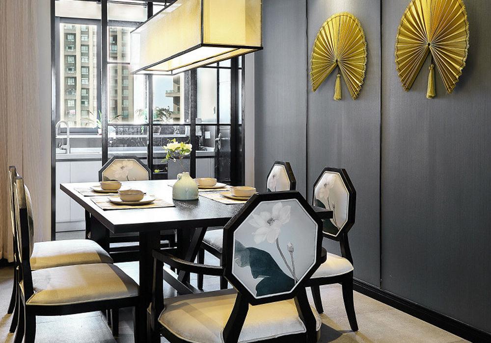 天阳尚景国际中式风格四居家装效果图