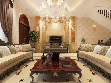 盛世家园欧式风格别墅家装效果图