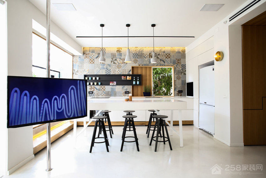海晟·维多利亚现代简约两室两厅装修效果图