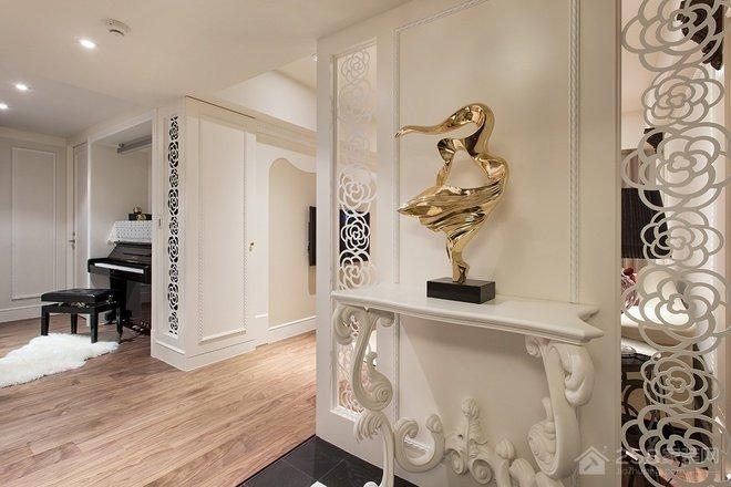 新古典风格三居家装效果图