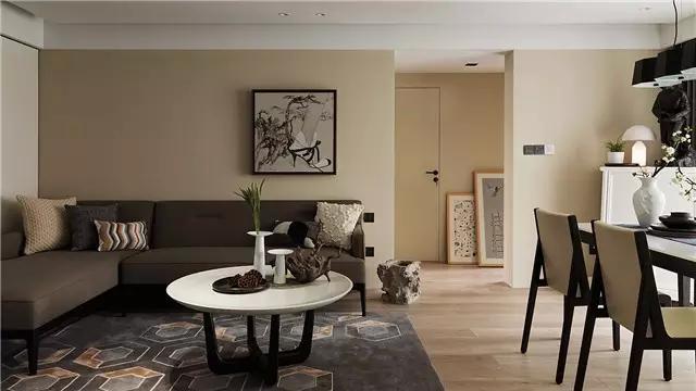三湘小区现代简约风格三居家装效果图