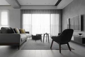北欧风格大户型家装效果图