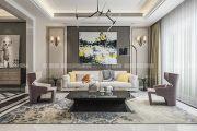 中电颐和家园现代简约风格三居装修效果图