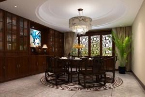 万象新新家园中式风格大户型家装效果图