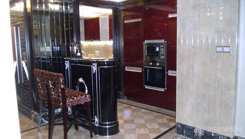 淘金山样板房欧式风格四居家装效果图