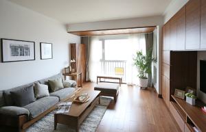 未来城84平两居日式家装效果图