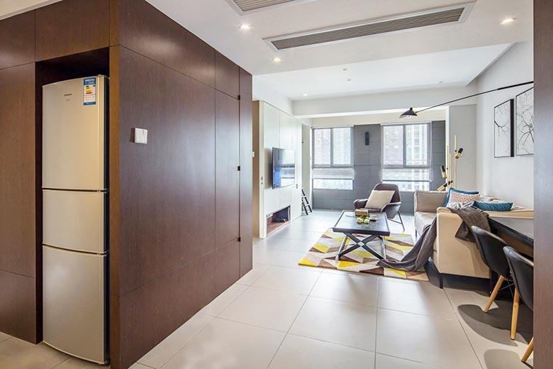 香樟园现代简约风格二居装修效果图