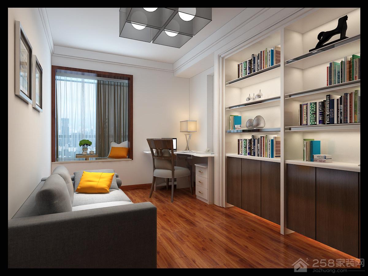 名泰轩现代简约风格二居家装效果图