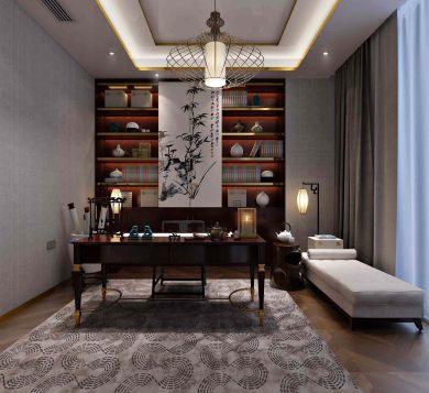 合正荣悦二居中式风格二居装修效果图