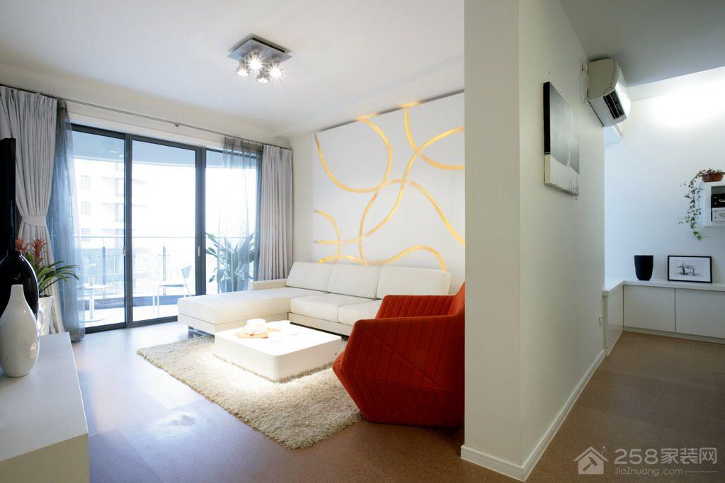 颐澳领地园现代简约风格三居家装效果图