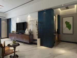 颐和庄园现代简约220平米家装效果图