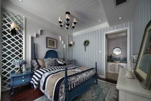南湖景园地中海风格二居家装效果图