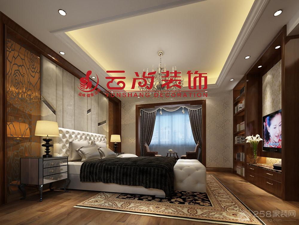 南安张总别墅欧式装修效果图