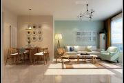 山水华府+二室一厅一厨两卫家装效果图