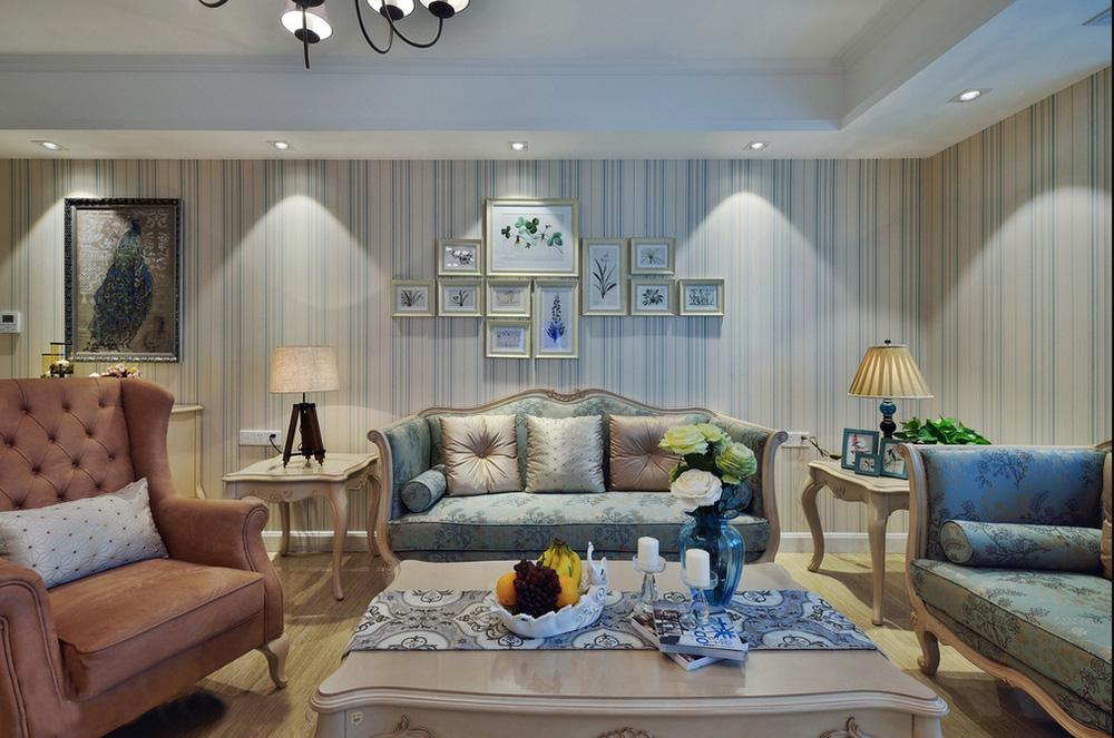 地中海风情两居室装修效果图