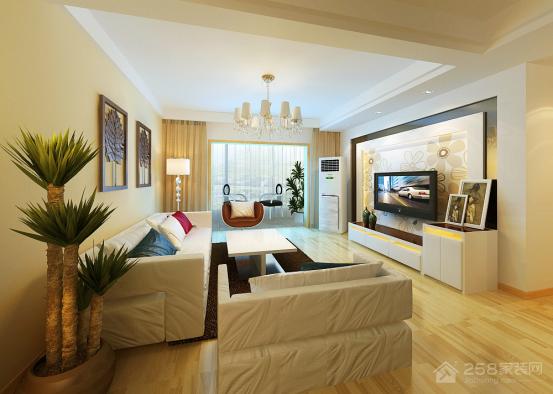 简洁的宅 现代简约风格装修效果图