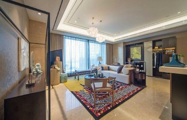 保利拉菲公馆140平 新中式风格家装效果图