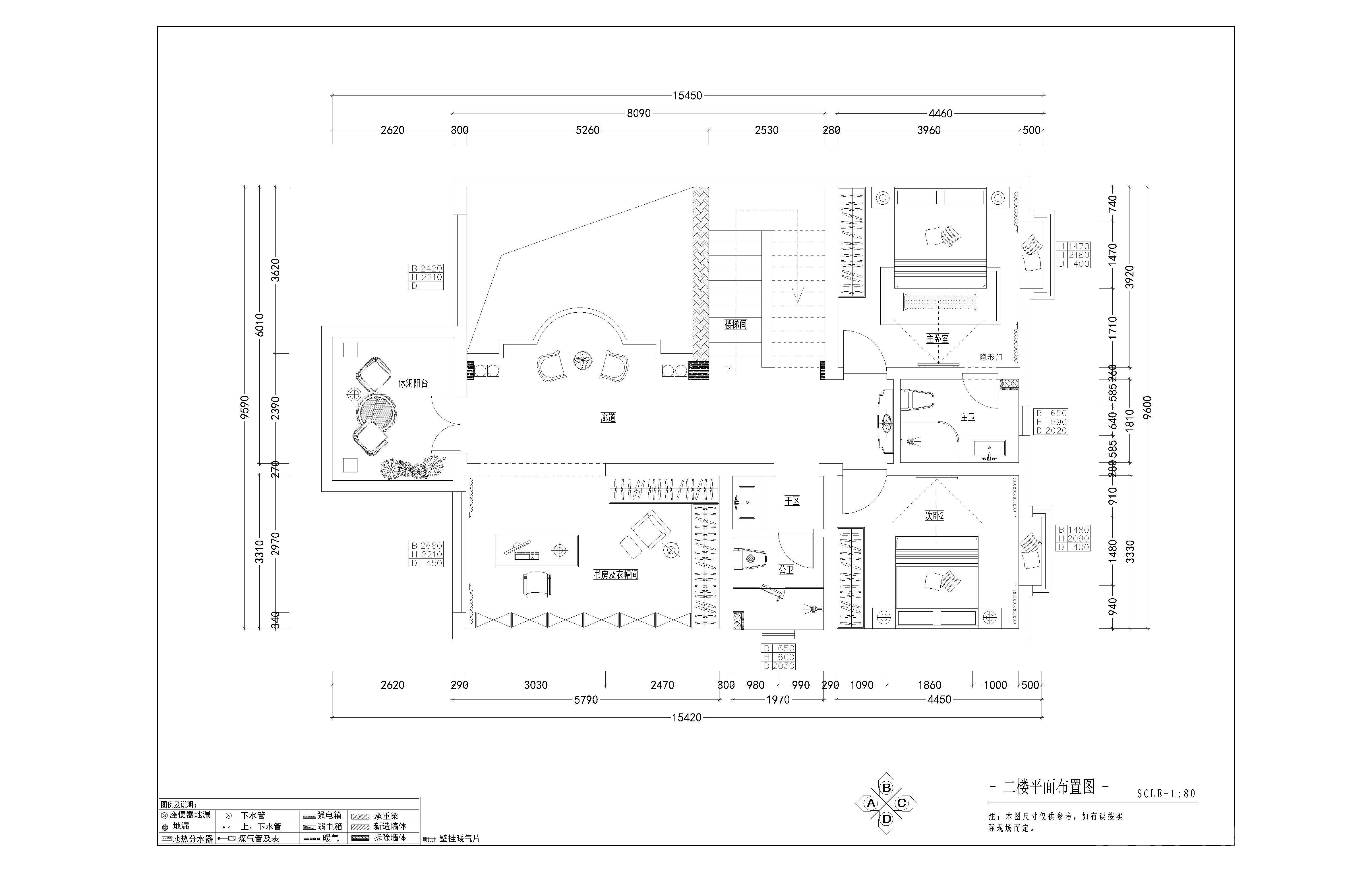 户县自建别墅 400 中式家装效果图