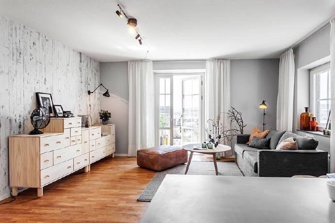 宫园中央 北欧风格三居家装效果图