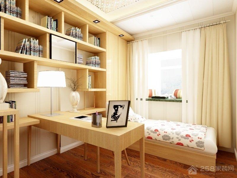 书香名苑三室一厅装修效果图