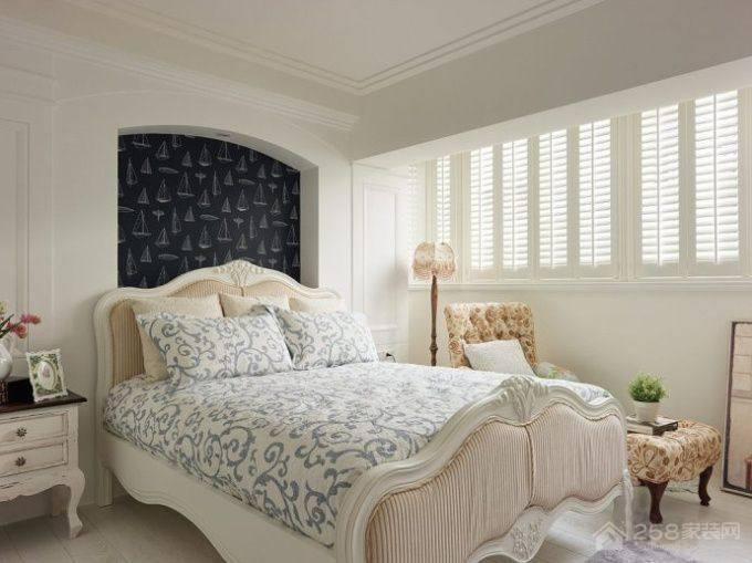 浪漫的地中海风格恒亿尚品湾三居室装修效果图