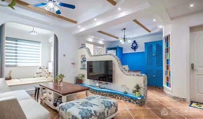 地中海复式家装效果图