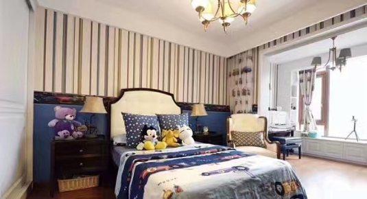 新中式   四居室装修效果图