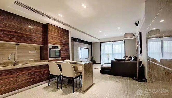 现代简约   三居室装修效果图